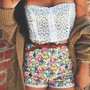 You gotta love floral shorts...