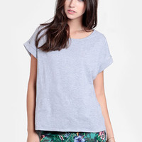 Simple Something Oversized Tee - $30.00 : ThreadSence, Women's Indie & Bohemian Clothing, Dresses, & Accessories