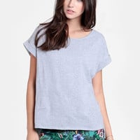 Simple Something Oversized Tee - $30.00 : ThreadSence, Women&#x27;s Indie &amp; Bohemian Clothing, Dresses, &amp; Accessories