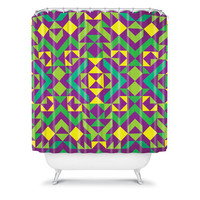 DENY Designs Home Accessories | Arcturus Quadrilaterals Shower Curtain