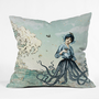 DENY Designs Home Accessories | Belle13 Sea Fairy Throw Pillow