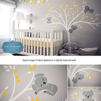 Wall decal Modern Koala Cuteness as seen on Project Nursery