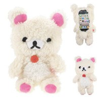 Amazon.com: Energystore Iplush Plush Toy Case for Iphone 4/4s Iphone5 Samsung N7100/note2 Ipadmini (ip4/4s white bear): Cell Phones & Accessories