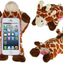 Amazon.com: FUDE PC Plastic &amp; Plush Rotary 3D Plush Giraffe Protective Case for iPhone 5: Cell Phones &amp; Accessories