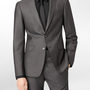 x extreme slim fit pinstitch suit jacket