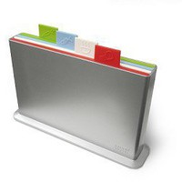 Index Advance Chopping Boards Set in Silver (lrg)