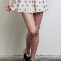 Wild Cat Skater Skirt