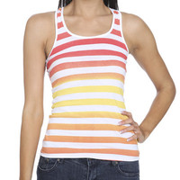Ombre Stripe Tank | Shop 5 for $20 at Wet Seal