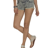 Acid Wash Fray Hem Short | Shop Shorts at Wet Seal