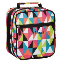 Gear-Up Black Kaleidoscope Classic Lunch Bag