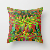 Melting Pot Throw Pillow by Glanoramay