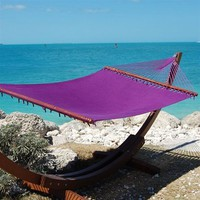 Caribbean Jumbo Hammock By Beachside Hammocks - Purple
