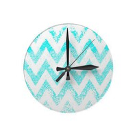 zig-zag clock from Zazzle.com