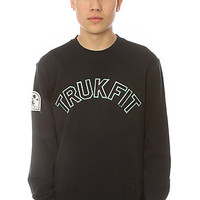 TRUKFIT Crewneck Sweatshirt Black Karmaloop