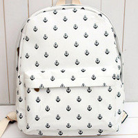 Anchor bag lovely backpack