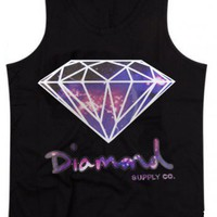 DIAMOND GALAXY TANK TOP