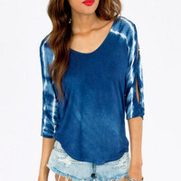Tasha Tie Dye Top $28