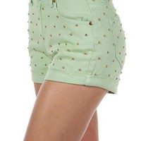 MINKPINK Cheeky Stud Shorts
