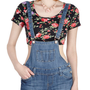 Blue Jean Nights Overalls | Mod Retro Vintage Shorts | ModCloth.com