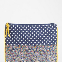 Cooperative Split-Pattern iPad Zip-Pouch