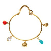 Elephant Charmy Bangle