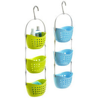 The Container Store &gt; 3-Basket Shower Caddy