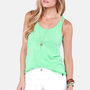 Hurley Perfect Mint Green Tank Top