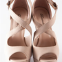 Heads Above Peep Toe Wedges - Beige from Evening & Club at Lucky 21 Lucky 21