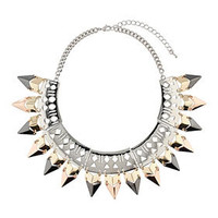 Geo Cut Out Collar