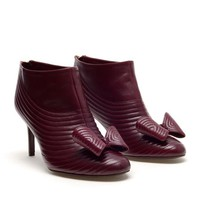 LAURENCE DACADE | Ribbed Leather Shoe Boots | Browns fashion &amp; designer clothes &amp; clothing