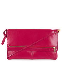 Clean Zip Front Clutch - Bags &amp; Purses - Bags &amp; Accessories - Topshop