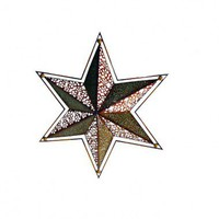 Cheungs Rattan 28.5&quot; Star Wall Art in Multicolor - FP-2579 - All Wall Art - Wall Art &amp; Coverings - Decor