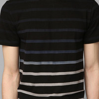BDG Dip-Dye Stripe Slim Fit Tee
