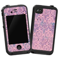 "Vintage Purple and Pink Damask ""Pro..."