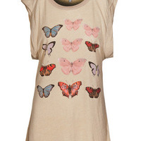 WILDFOX  METAMORPHOSIS DYLAN T Canvas Bedrucktes T-Shirt - What&#x27;s new