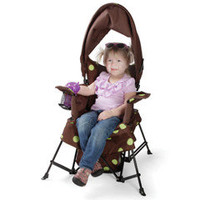 The Growing Child&#x27;s Adjustable Folding Chair - Hammacher Schlemmer