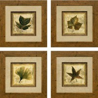 Phoenix Galleries Rustic Leaves Framed Prints - Rustic Leaves Series - All Wall Art - Wall Art &amp; Coverings - Decor
