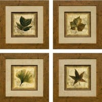 Phoenix Galleries Rustic Leaves Framed Prints - Rustic Leaves Series - All Wall Art - Wall Art & Coverings - Decor