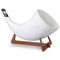 The Natural Acoustics iPhone Amplifier - Hammacher Schlemmer