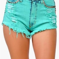 Lover Girl Short - Mint