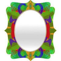 DENY Designs Home Accessories | Paula Ogier Joy 1 Quatrefoil Mirror