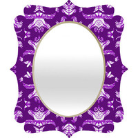 DENY Designs Home Accessories | Paula Ogier Lotus Garden Quatrefoil Mirror