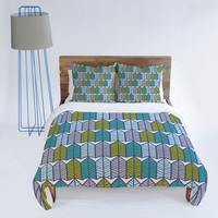 DENY Designs Home Accessories | Heather Dutton Arboretum Leafy Greens Duvet Cover