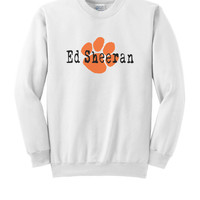 Ed Sheeran Crewneck Sweatshirt Paw Print