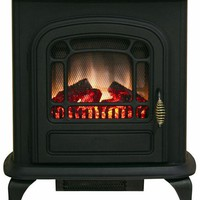 Brooke Electric Stove Fireplace - Fireplaces And Accessories - Home Accents - Home Decor | HomeDecorators.com