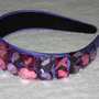 Purple Jeweled Headband