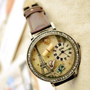 Retro Romantic Eiffel Tower Watch