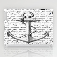 Anchor iPad Case by Kristi Kaz