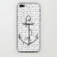Anchor iPhone & iPod Skin by Kristi Kaz