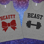 Beauty & Beast Matching Tanks | Skreened.com